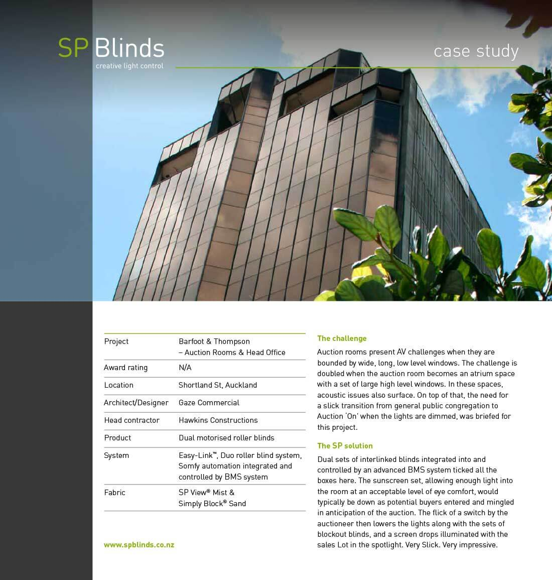Projects Sp Blinds